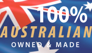 100% Australian Owned & Made